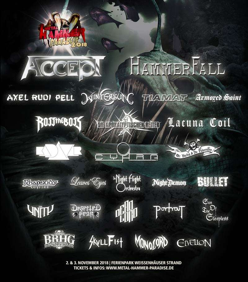 Metal Hammer Paradise 2018