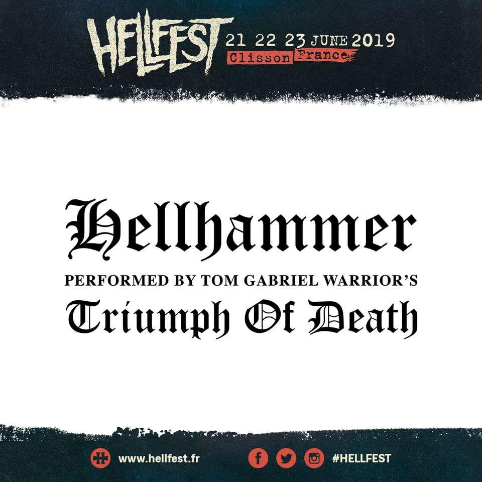 Hellhammer @ Hellfest 2019