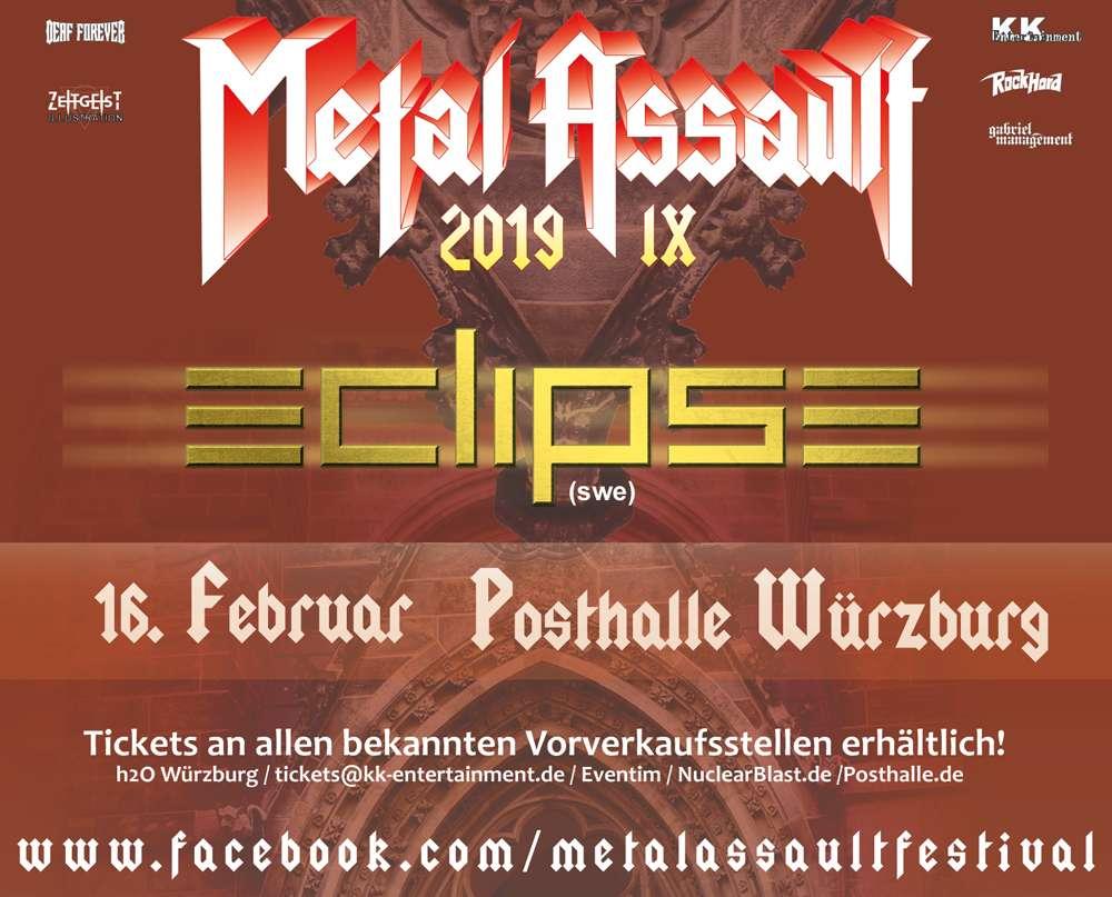 Eclipse at Metal Assault IX