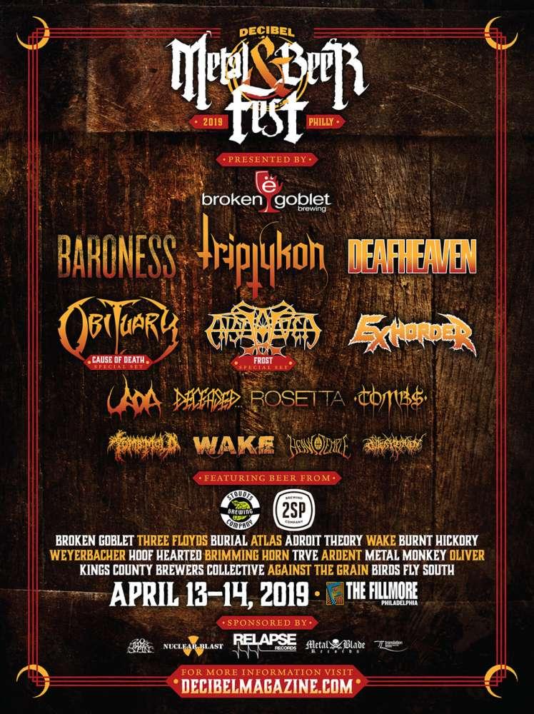 Triptykon @ Decibel Metal & Beer Fest