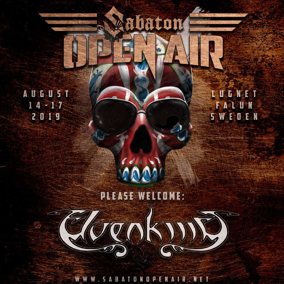 Elevenking at Sabaton open Air 2019