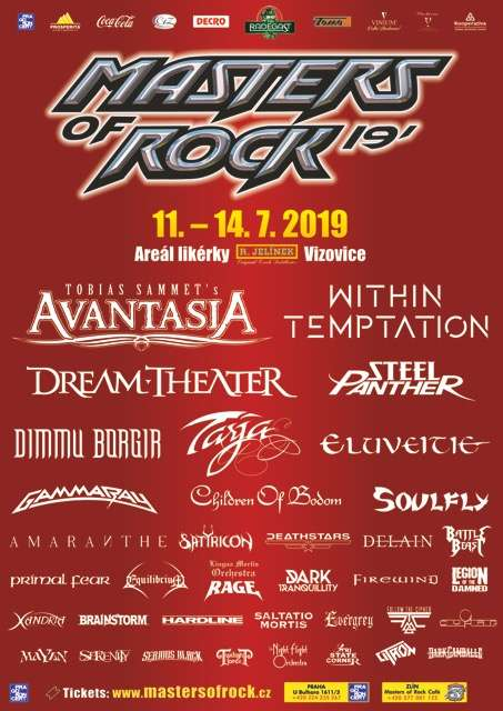 Avantasia at Masters of Rock festival