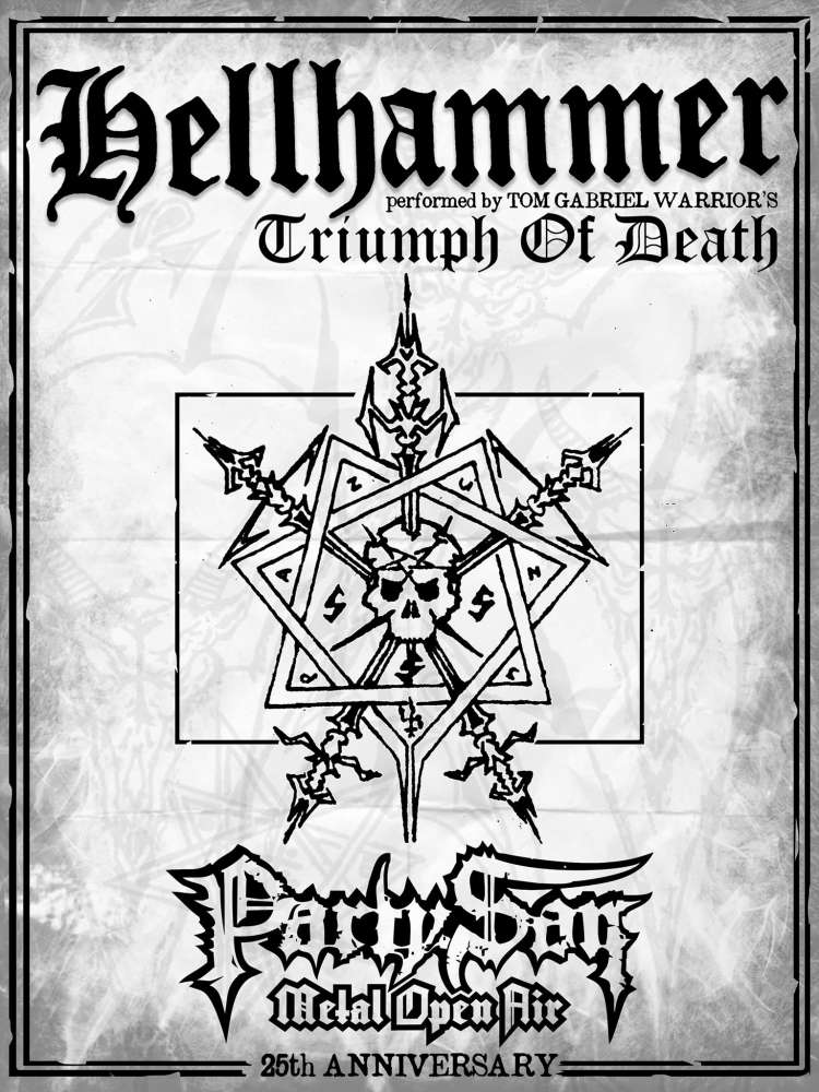 Triumph of Death - Hellhammer at Party.San 2019