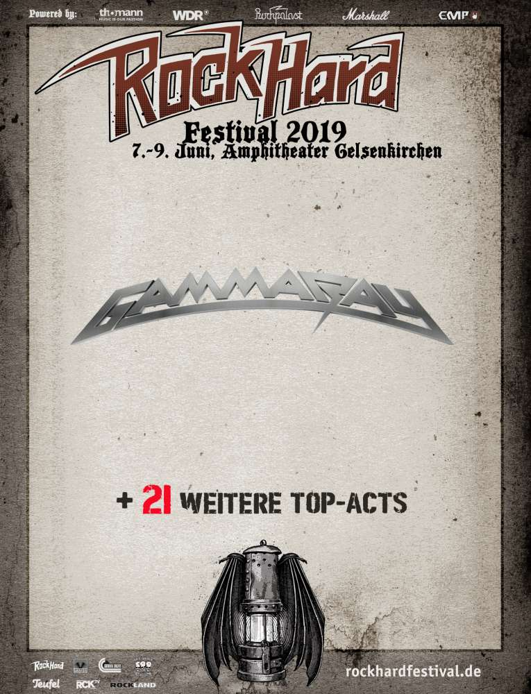 Gamma Ray @ Rock Hard Festival 2019