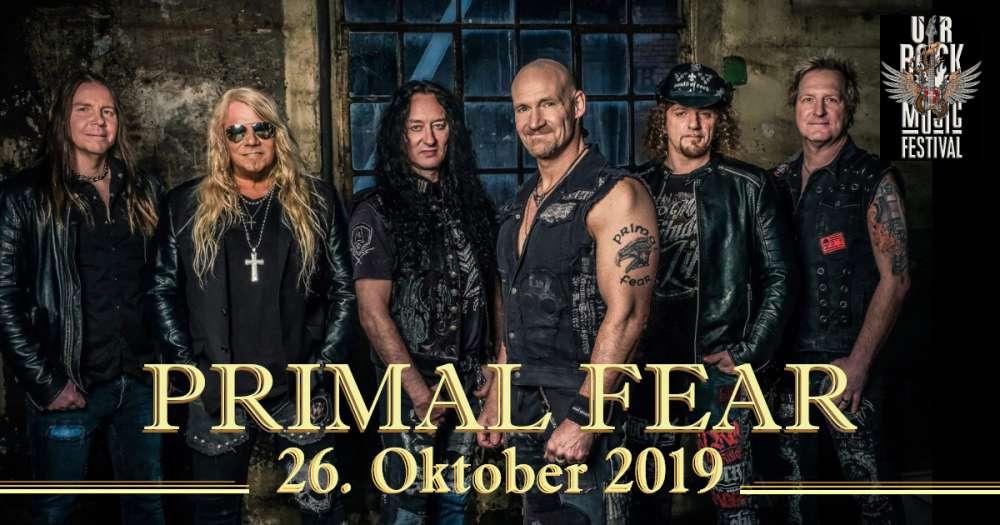 Primal Fear at UrRock Music Festival 2019