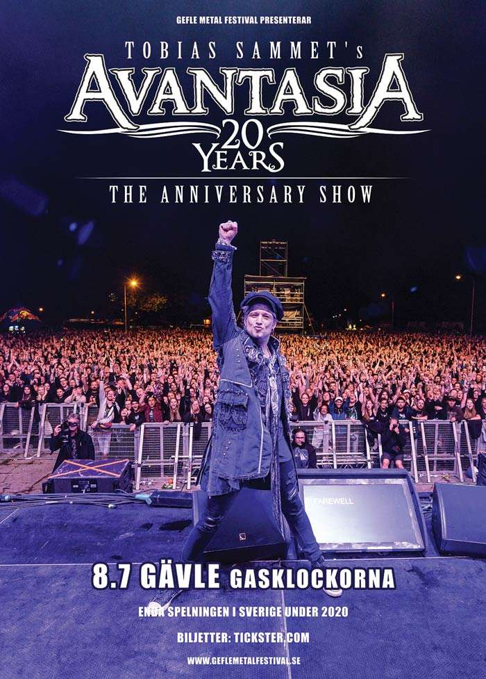 Tobias Sammet's Avantasia 20th anniversary show
