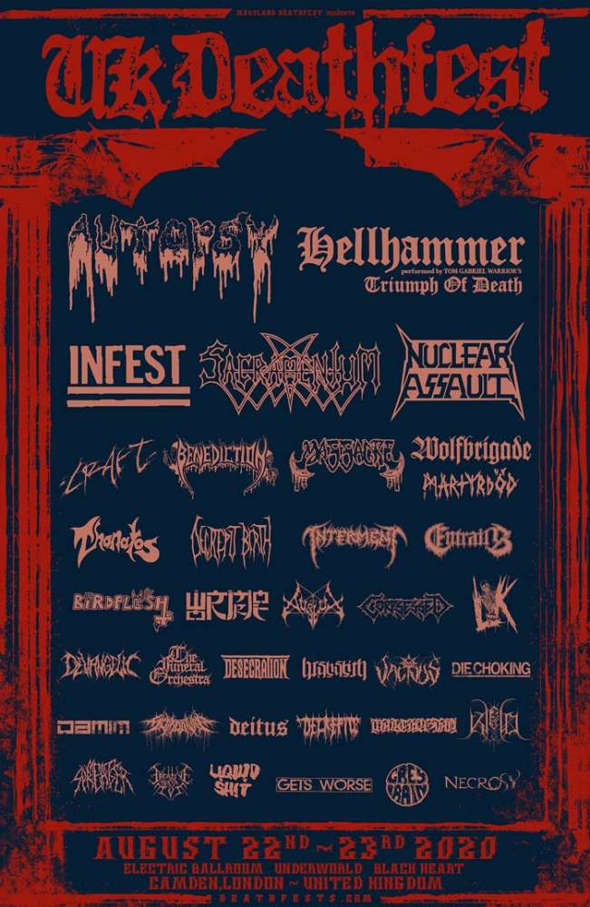 Triumph Of Death @ UK Deathfest