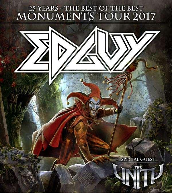 Edguy Monuments Tour 2017